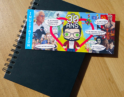 Invitation | 30 ans Geek