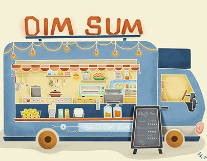 Food Truck - Illustration