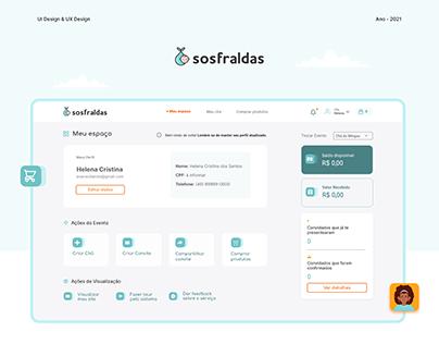 SOS Fraldas - Sistema de gerenciamento de chá de bebê