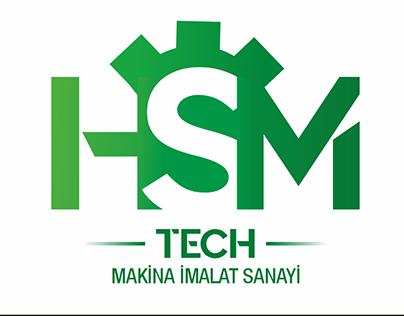 HSM-TECH MAKİNA Logo Çalışması