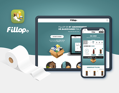 Pantry Subscription service, App+Web Netto Fillop