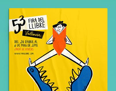 Valencia Book Fair | Advertising campaign