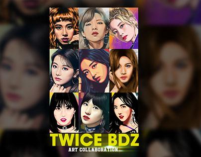 "Twice ""BDZ"" (FanArt Collab)"