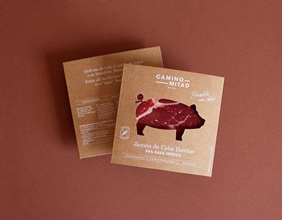 Camino Mitad case packaging