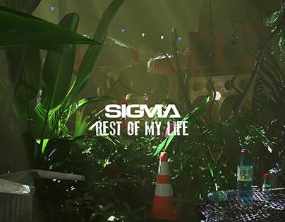 Sigma - Rest of my life (Lyric Video)