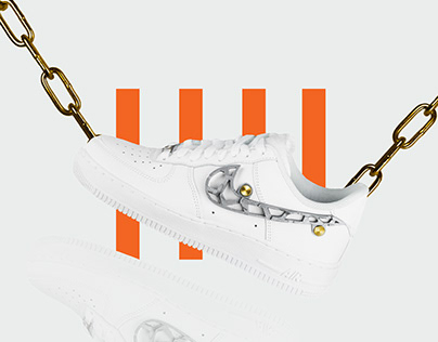 Nike AF1 Mucem by Noë Liu