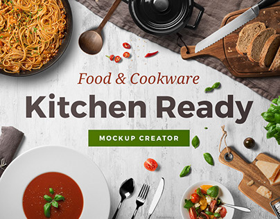 Kitchen Ready Mockup Creator