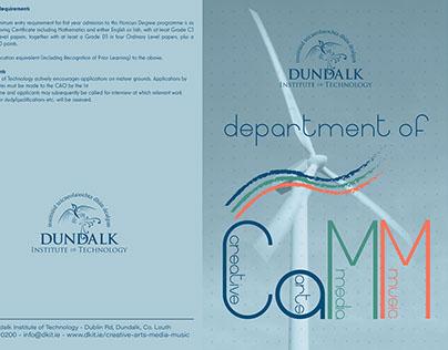 DkIT Creative Arts Media and Music Department Branding