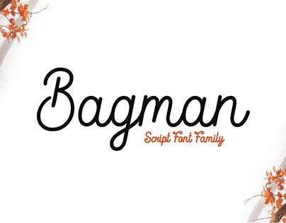 Bagman - Script Font Family