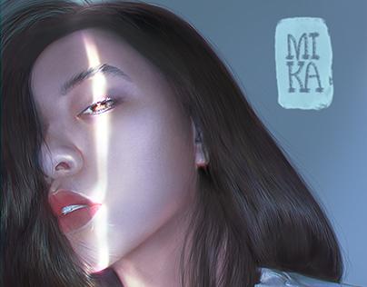 Huyen - Portrait Digital Painting