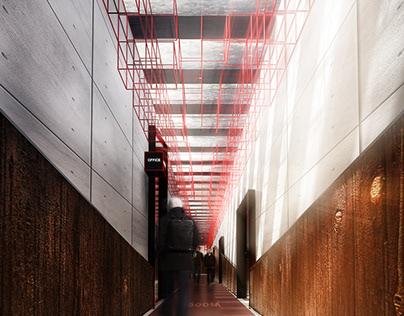 极地客孵化器产业区室内空间设计
