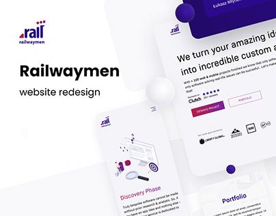 Railwaymen Website Redesign
