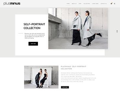 New website for Plusminus Fashion