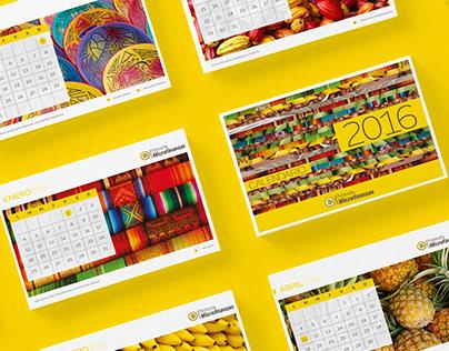 Calendario Banco Pichincha
