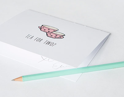 Cards du Jour Notecard Set