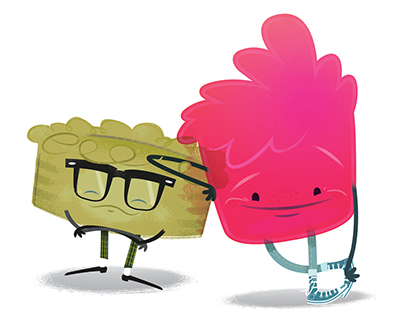 Jelly Pie Central – Character Design