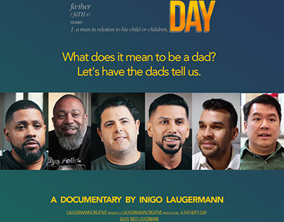 A Father's Day Documentary - Promotional Poster