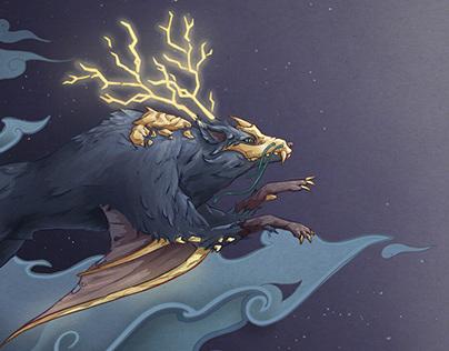 Raiju Projects Photos Videos Logos Illustrations And Branding On Behance Nona, decuma, and morta in roman mythology, the fates were named nona, decuma and morta. raiju projects photos videos logos