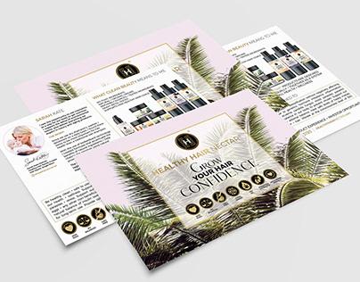 Healthy Hair Nectar Packaging