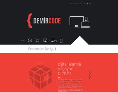 Demircode Website Design