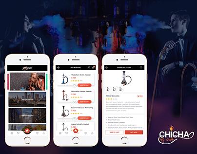 Hookah Store Mobile App