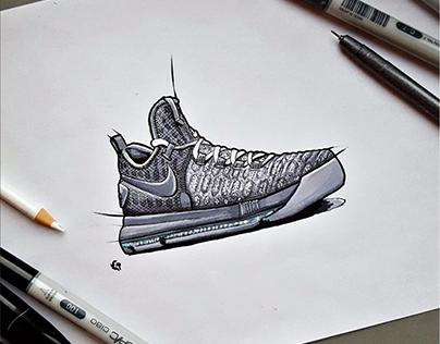 Multi-Brand Illustration / Nike - Adidas