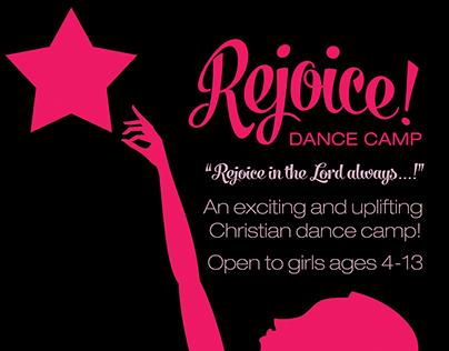 Rejoice! Dance Camp: FLYER