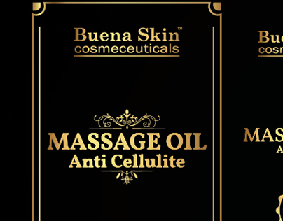 Buena Skin Anti Cellulite Massage Oil