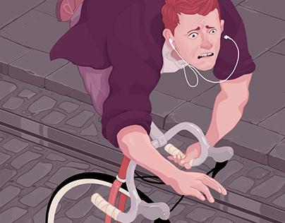 Tram line terror