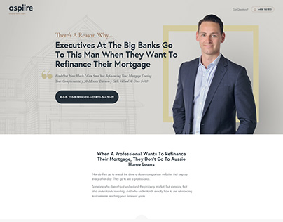 Website Design for Financial Advisor