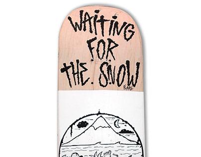 Skateboard @matdisseny • Snow Flake (Terni Skate Shop)