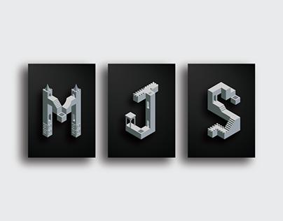 MJS Isometrics - Dribbble Challenge