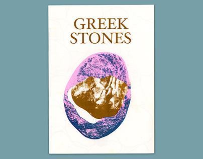 Greek Stones zine