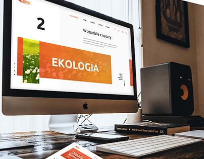 Corimp - website design