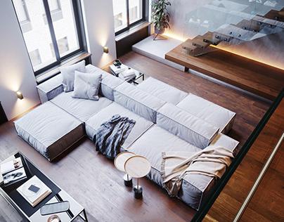 CGI - O1 apartment