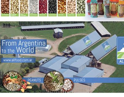 Grafica para exportadora de granos