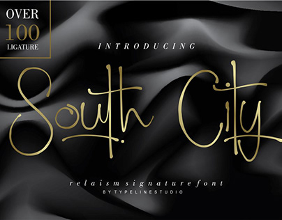 South City Signature FREE FONT