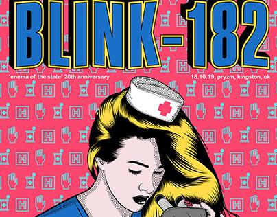 Blink-182 Gig Poster Concept