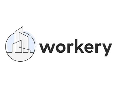 Workery Logo Design