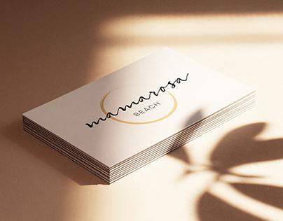 Mamarosa Beach Restaurant - Branding Proposal