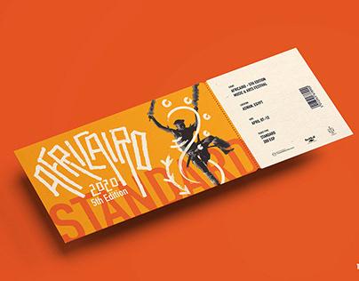 AFRICAIRO Music & Arts Festival Branding