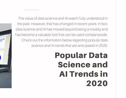 Alastair Majury | Data Science Trends of 2020