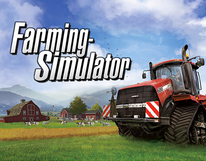 Farming Simulator - Visuel pour jeu consoles