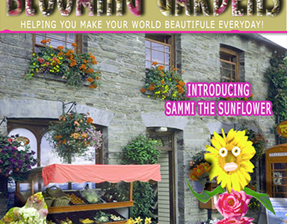 Blooming Gardens Marketing Material.