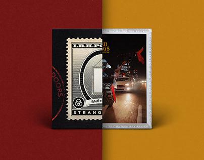 Cover art for Rhêtorík / 'Stranglehold' and 'Red Flag$'