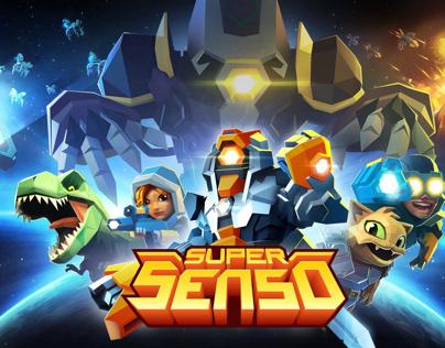 Super Senso 3D Character Models