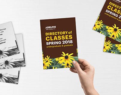 Adelphi University Directory of Classes: Postcard