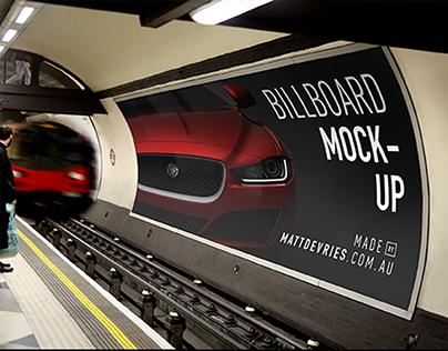 Smart Advertising Billboard | PSD TEMPLATE MOCKUP