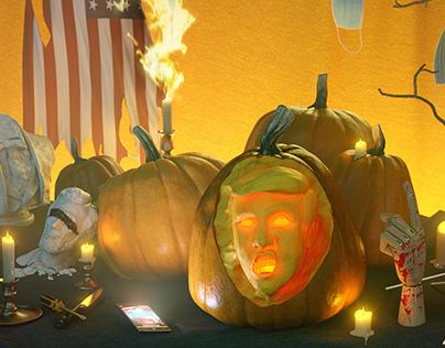 Halloween 2020 - The Trumpkin