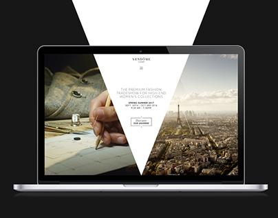 Vendôme Luxury Website
